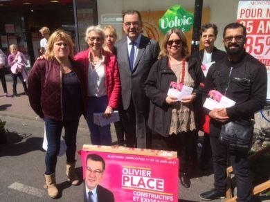 Campagne à Saint-Maur, au marché d'Adamville